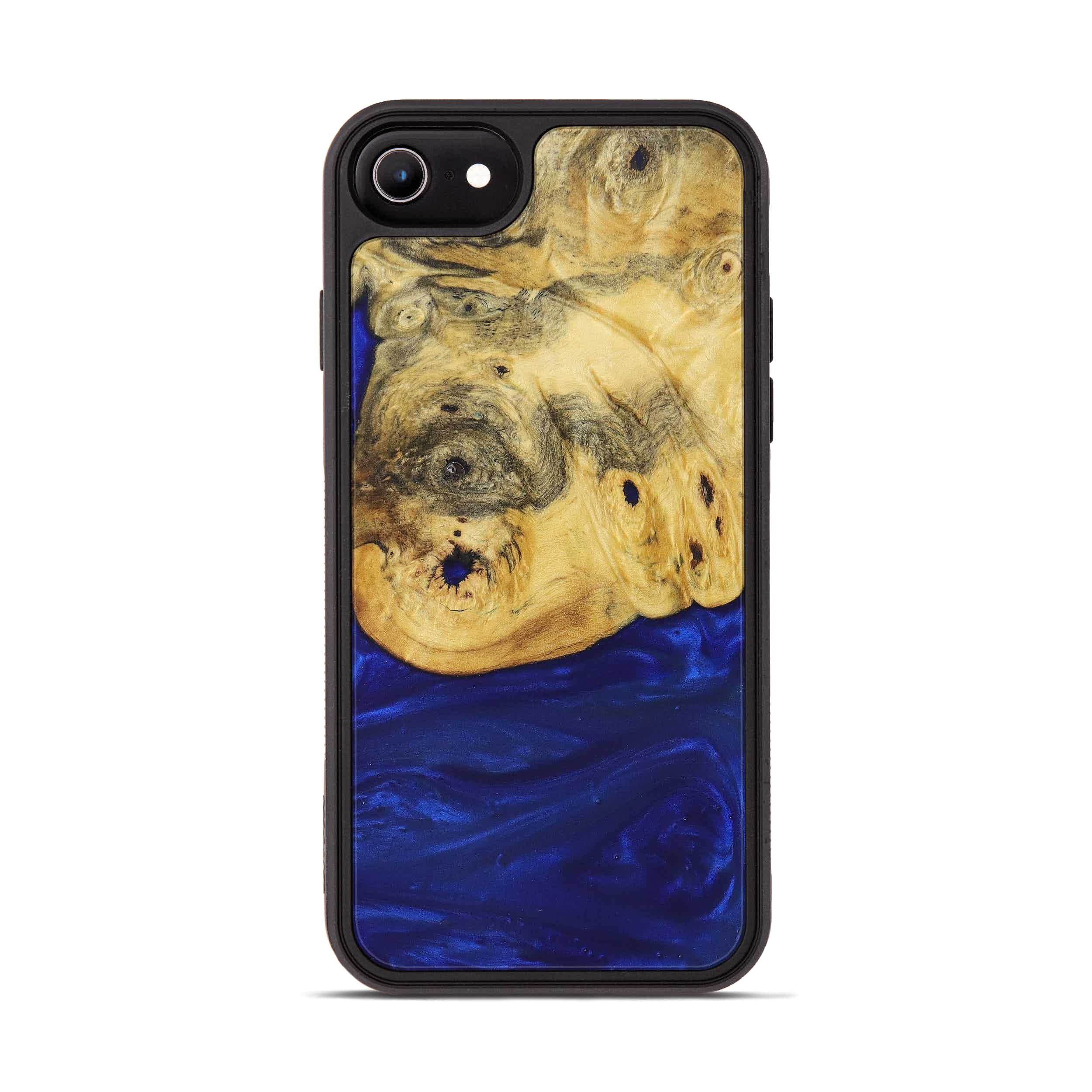 iPhone 6s Wood+Resin Phone Case - Loni (Dark Blue, 367198)