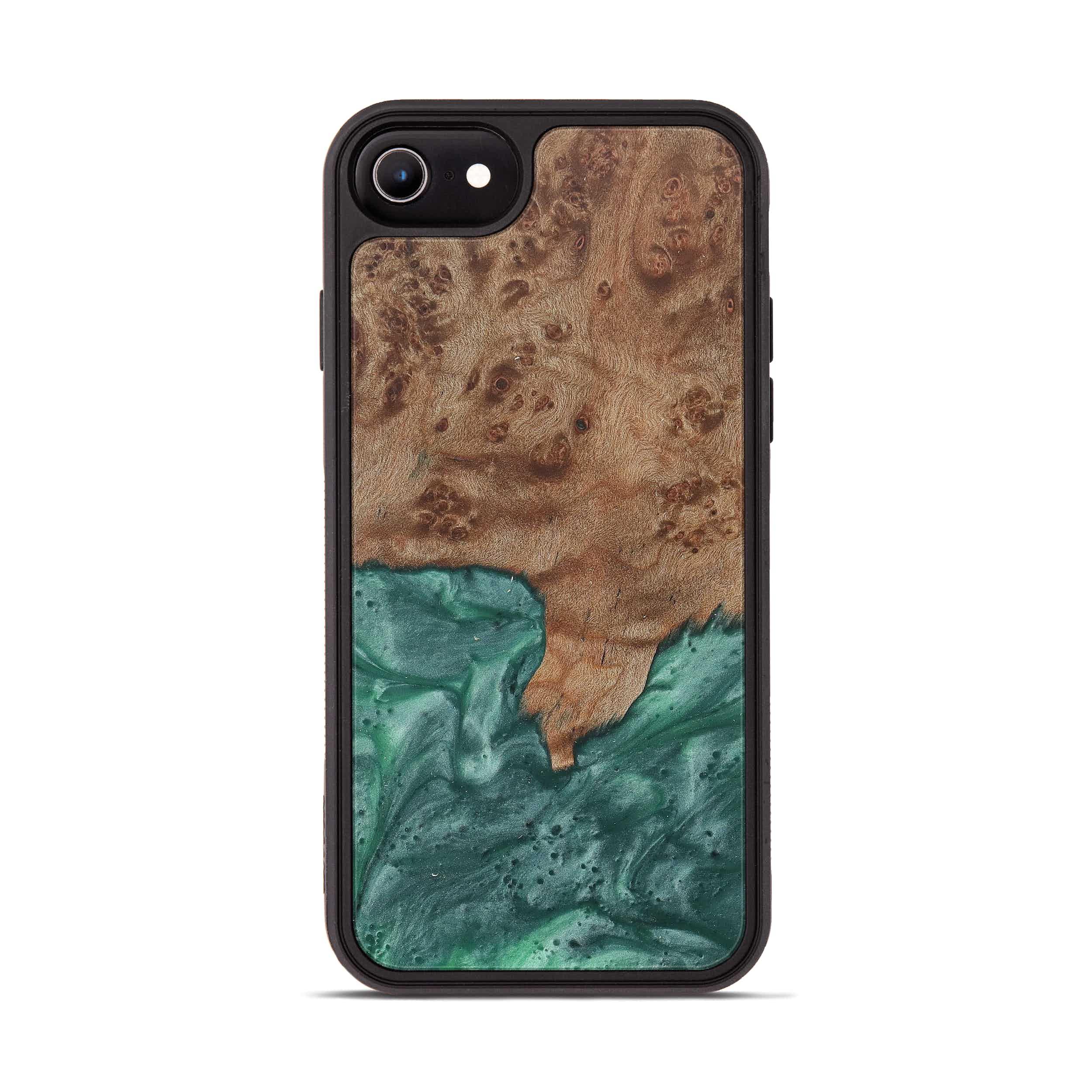 iPhone 6s Wood+Resin Phone Case - Koko (Dark Green, 374560)