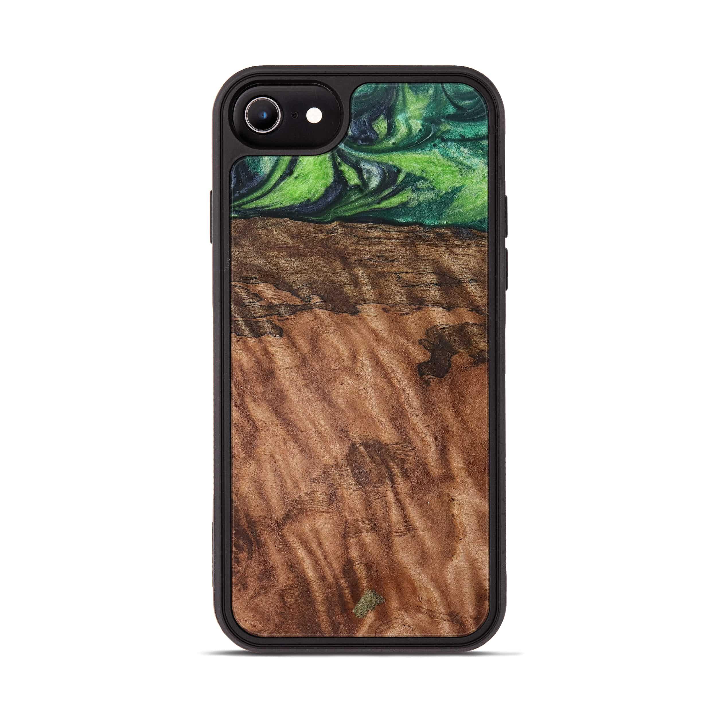 iPhone 6s Wood+Resin Phone Case - Shelton (Dark Green, 387357)