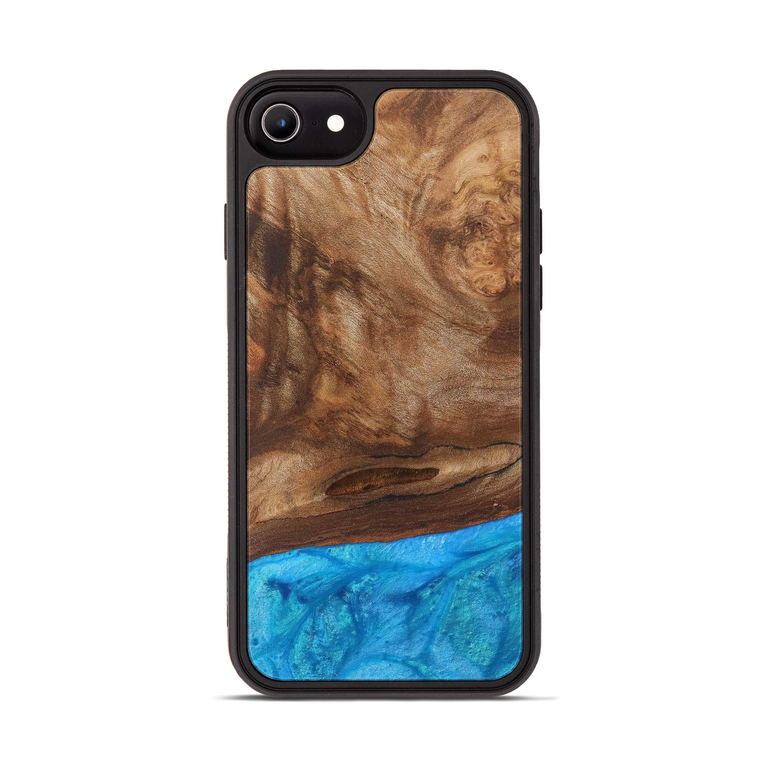 iPhone 6s Wood+Resin Phone Case - Rosamond (Light Blue, 388817)