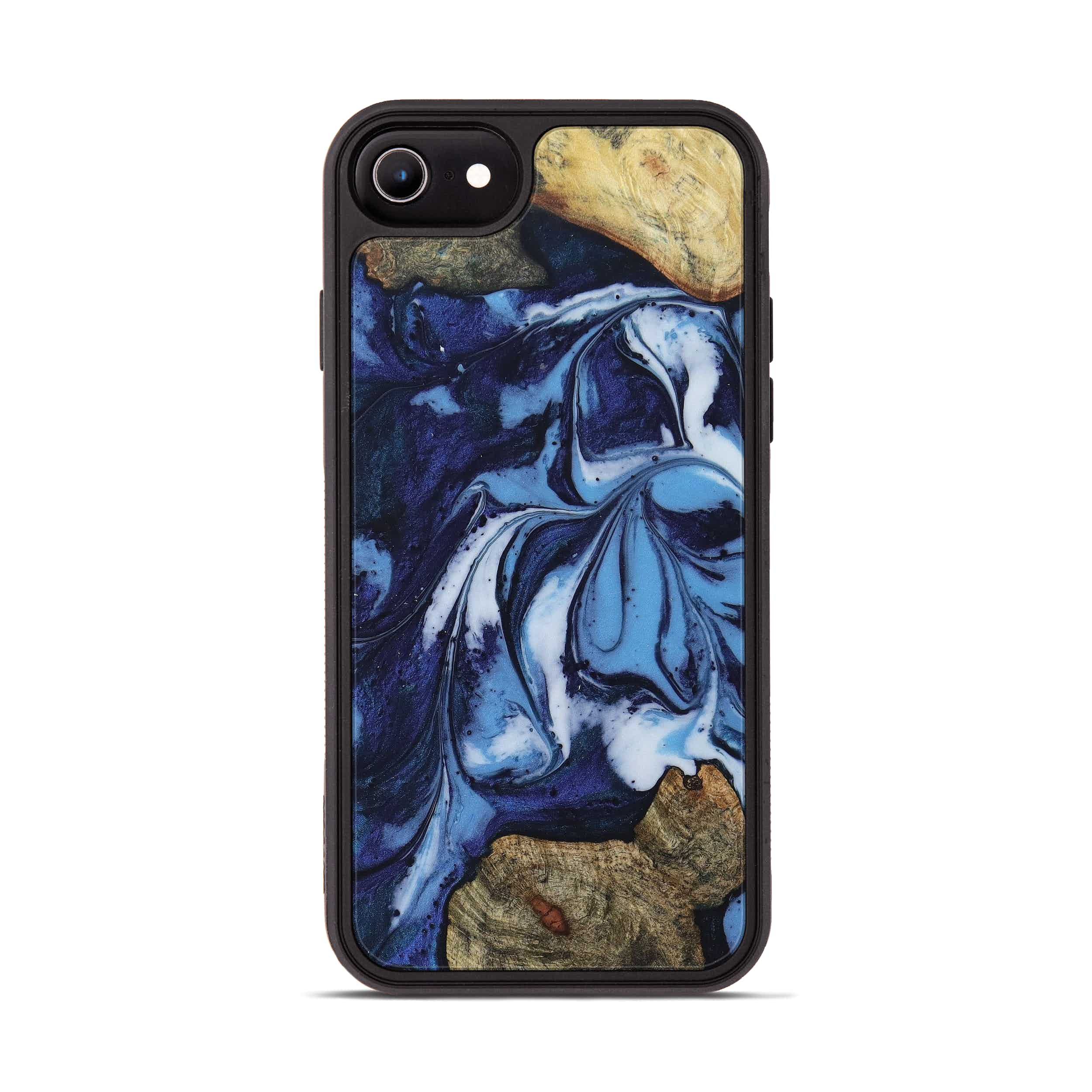 iPhone 6s Wood+Resin Phone Case - Gerben (Dark Blue, 394647)
