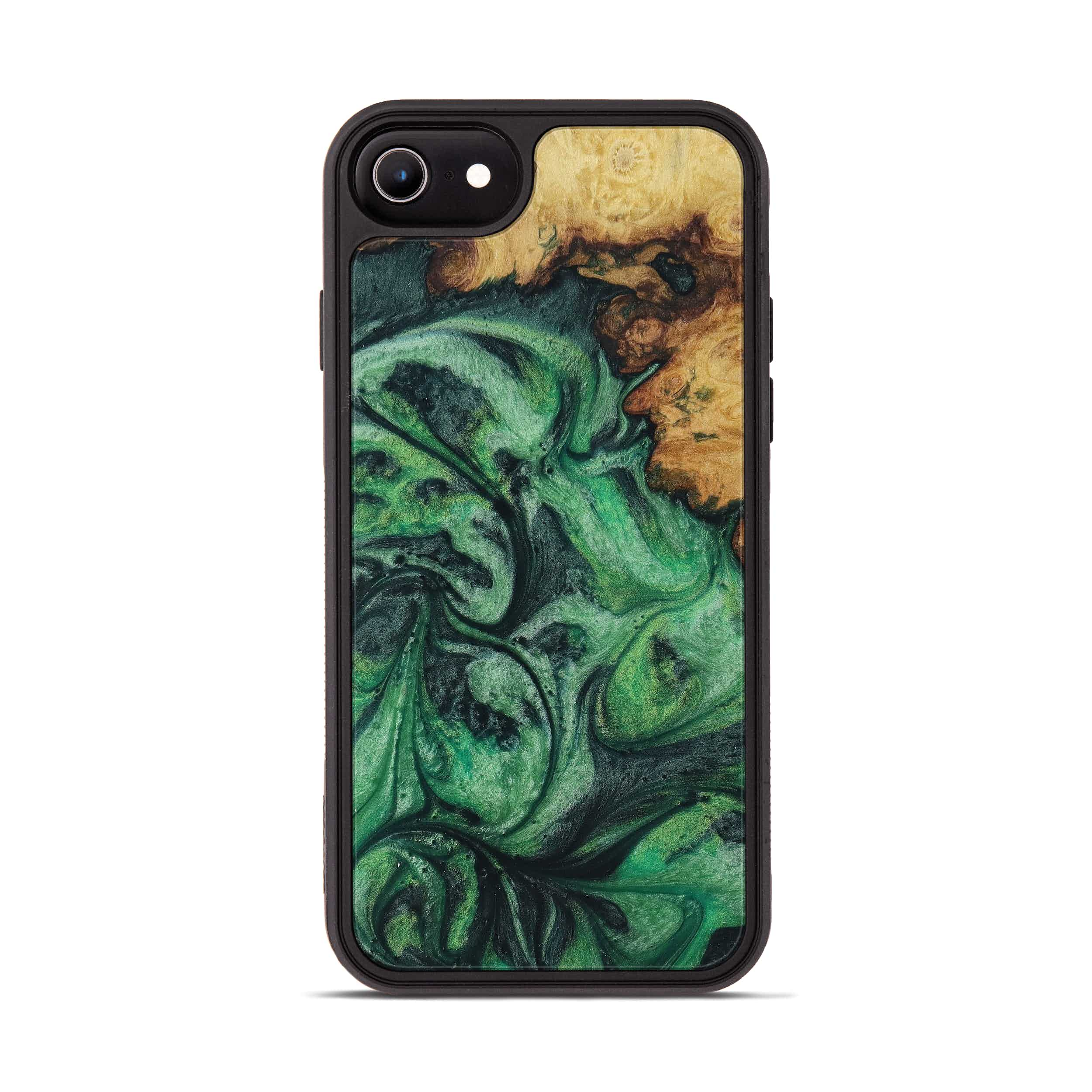 iPhone 6s Wood+Resin Phone Case - Yoke (Dark Green, 394695)