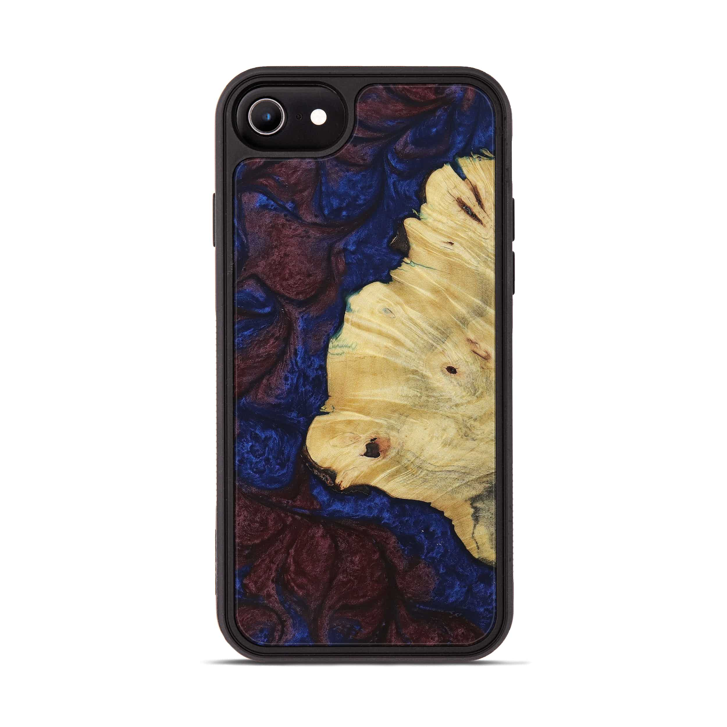 iPhone 6s Wood+Resin Phone Case - Tomy (Blue & Red, 394784)