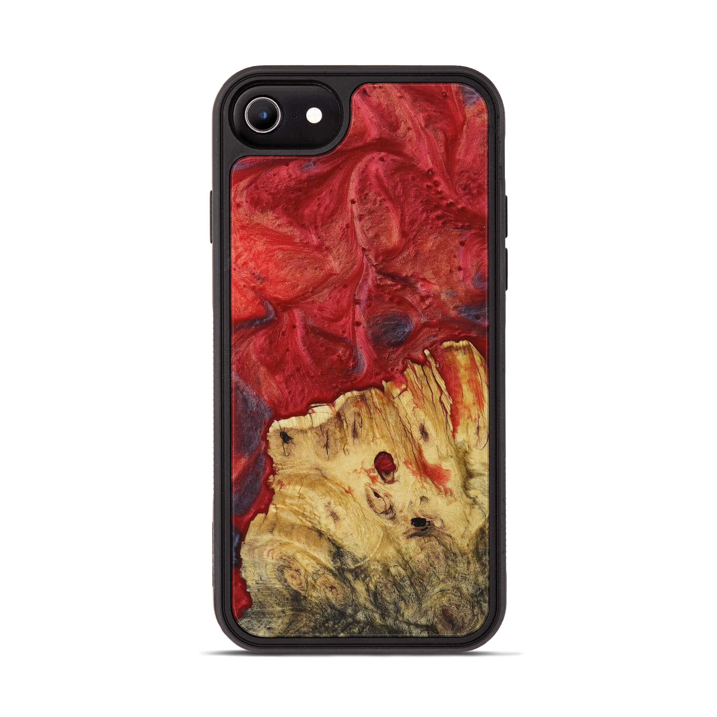 iPhone 6s Wood+Resin Phone Case - Cleve (Dark Red, 395199)