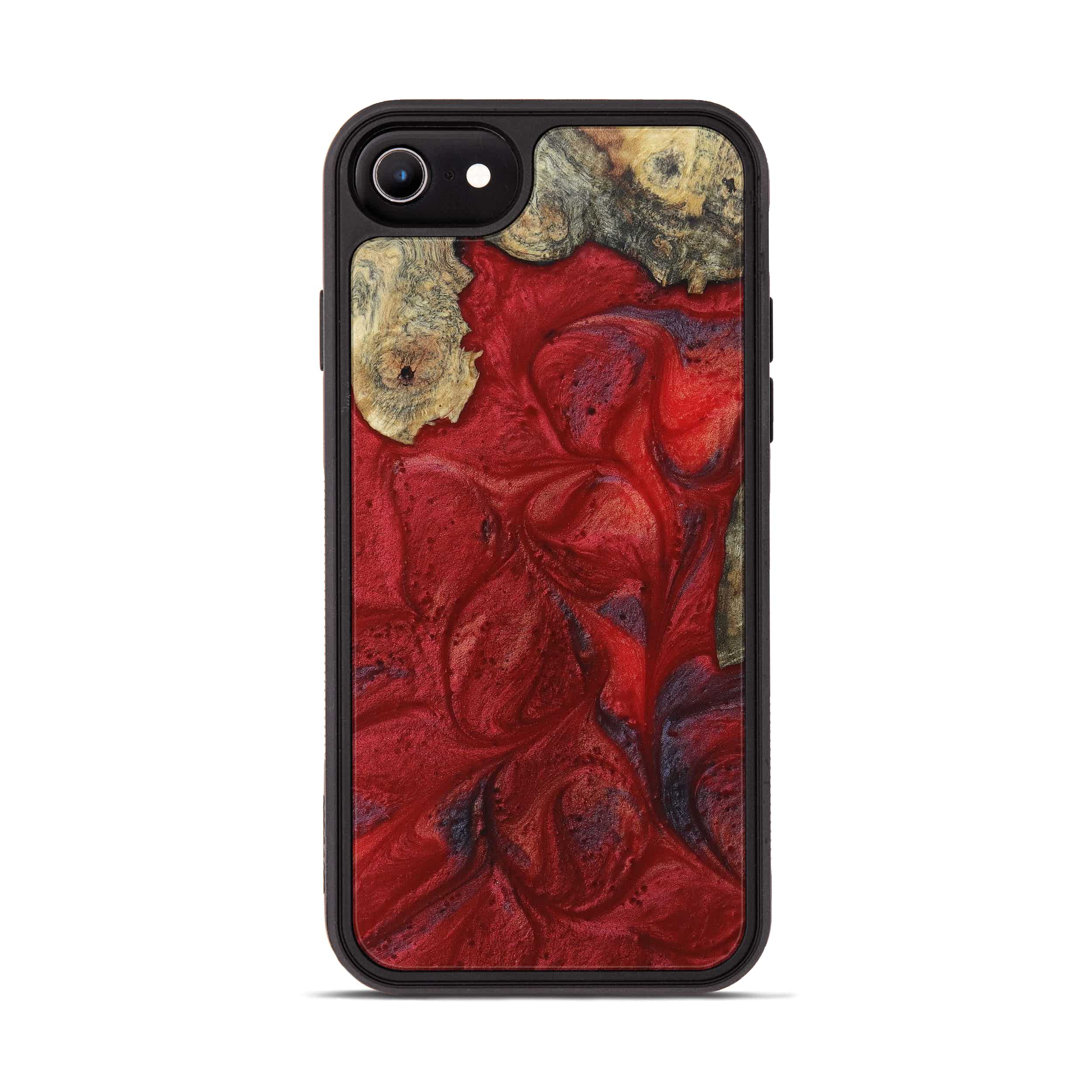iPhone 6s Wood+Resin Phone Case - Jerome (Dark Red, 395202)
