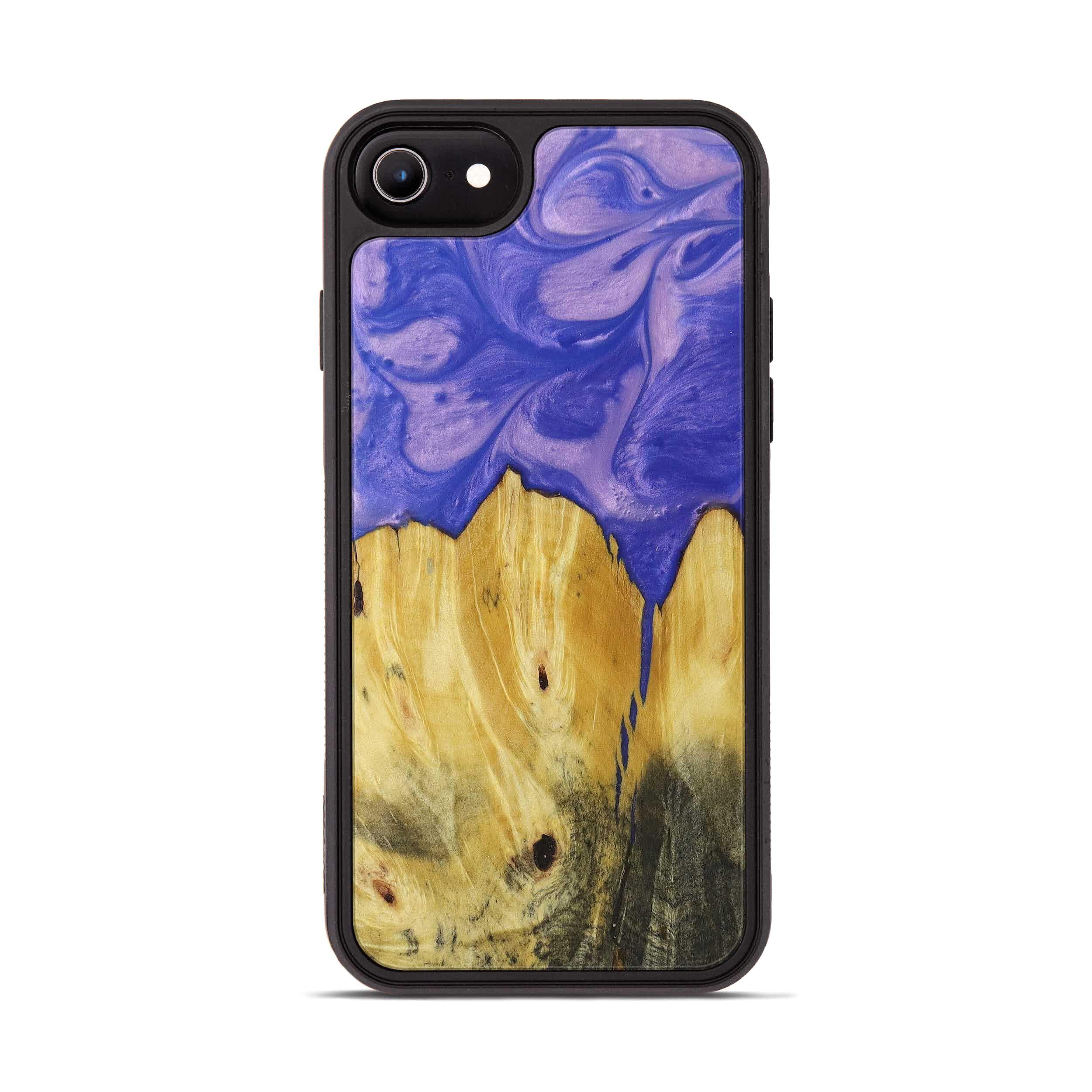 iPhone 6s Wood+Resin Phone Case - Dixie (Purple, 395917)