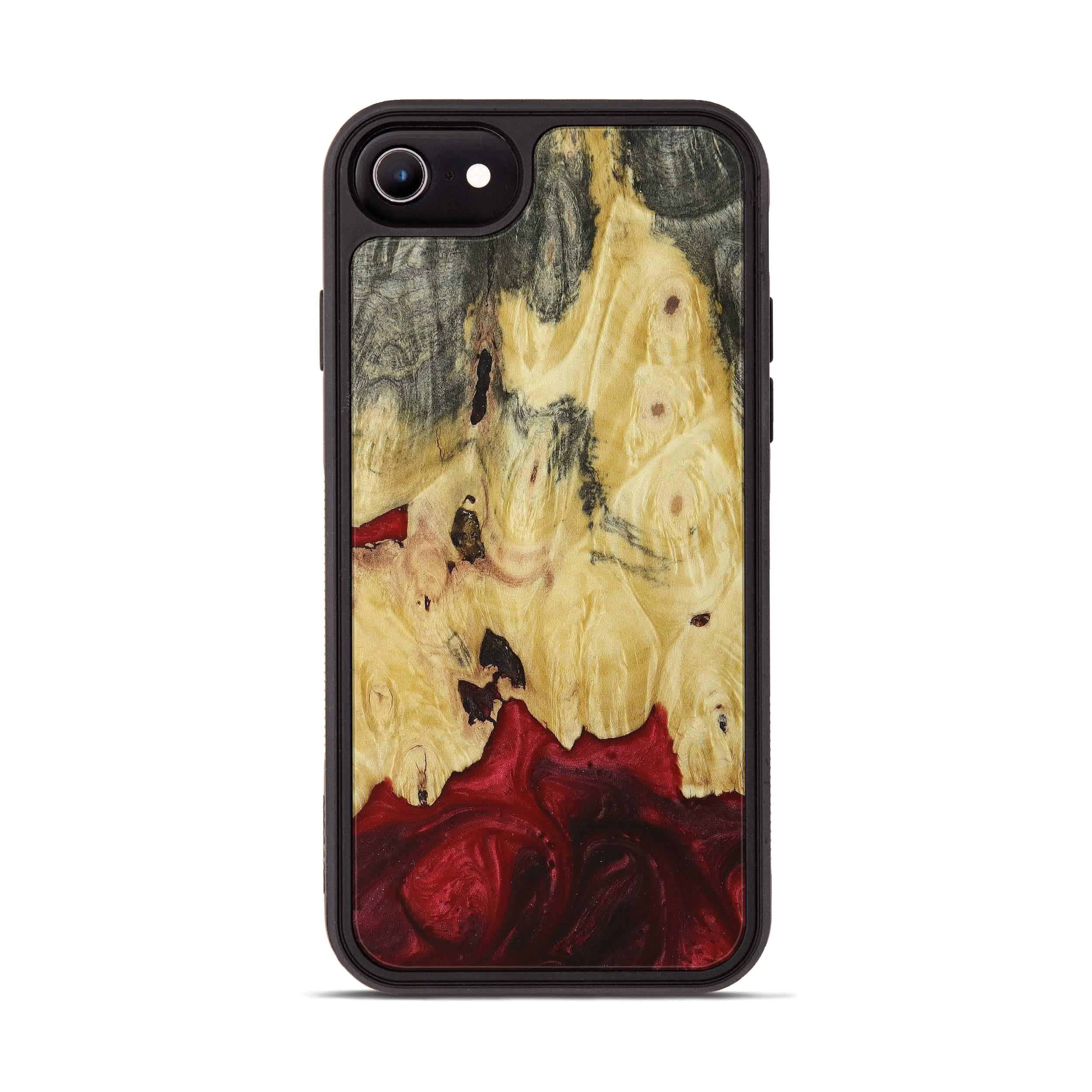 iPhone 6s Wood+Resin Phone Case - Dorri (Dark Red, 395924)