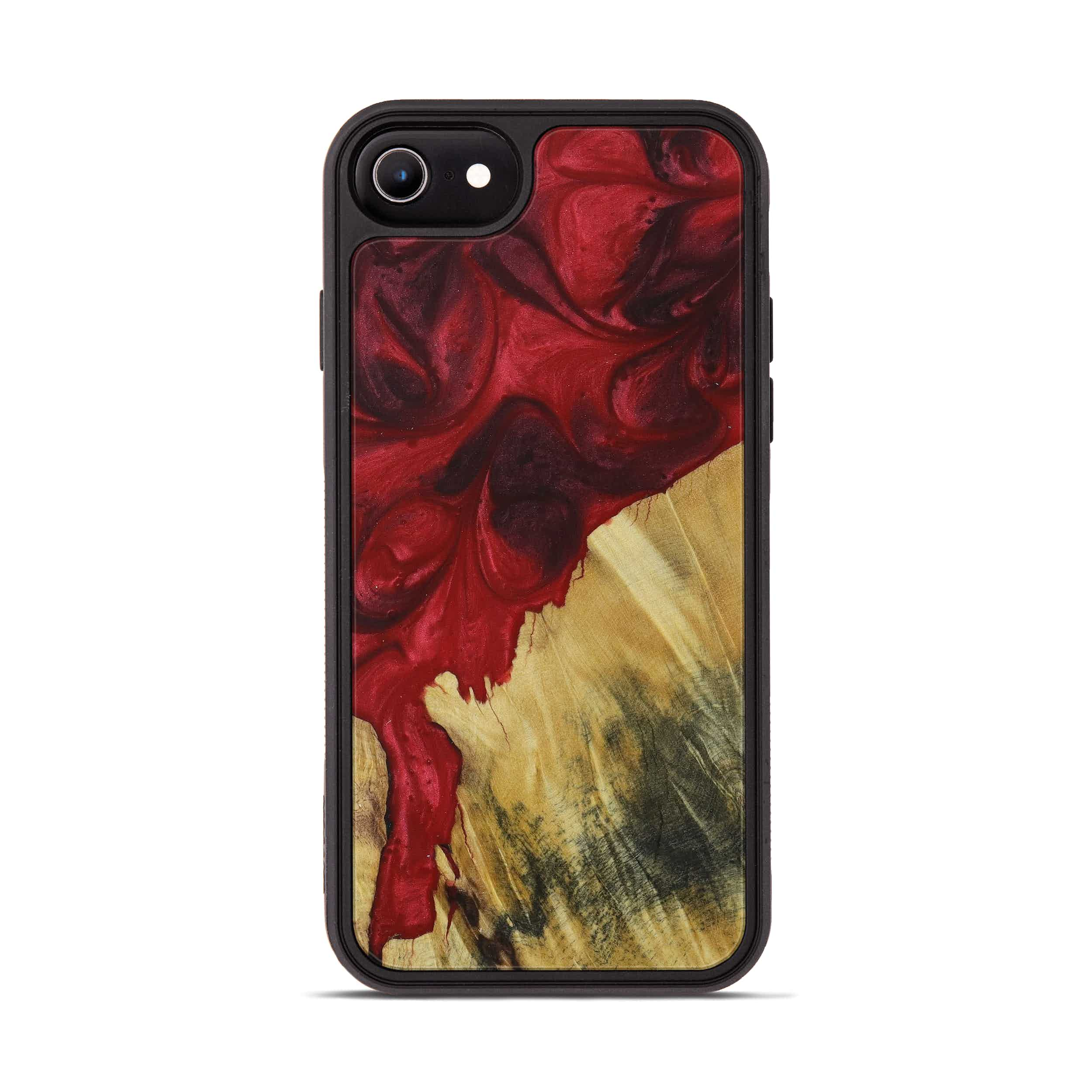 iPhone 6s Wood+Resin Phone Case - Onette (Dark Red, 395927)