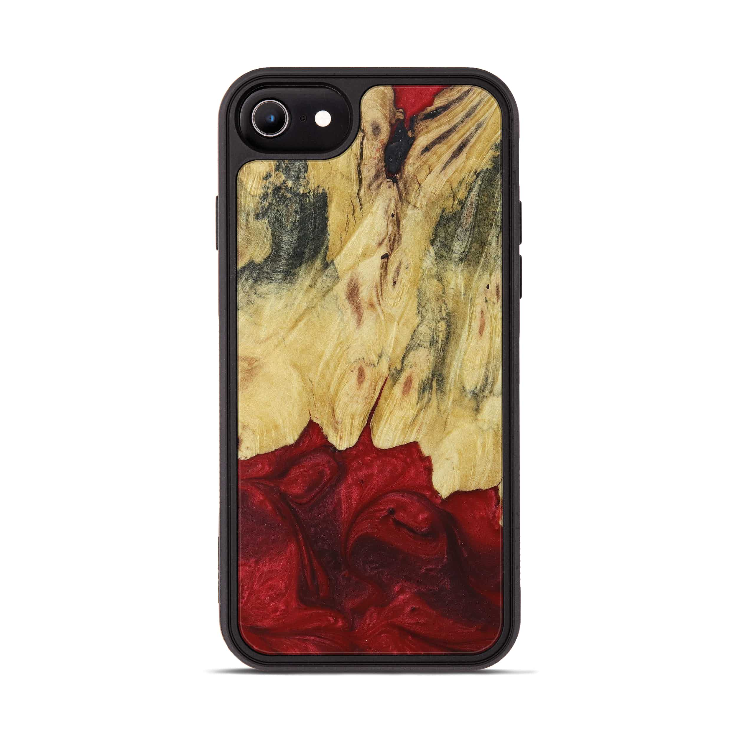 iPhone 6s Wood+Resin Phone Case - Sidoney (Dark Red, 395932)