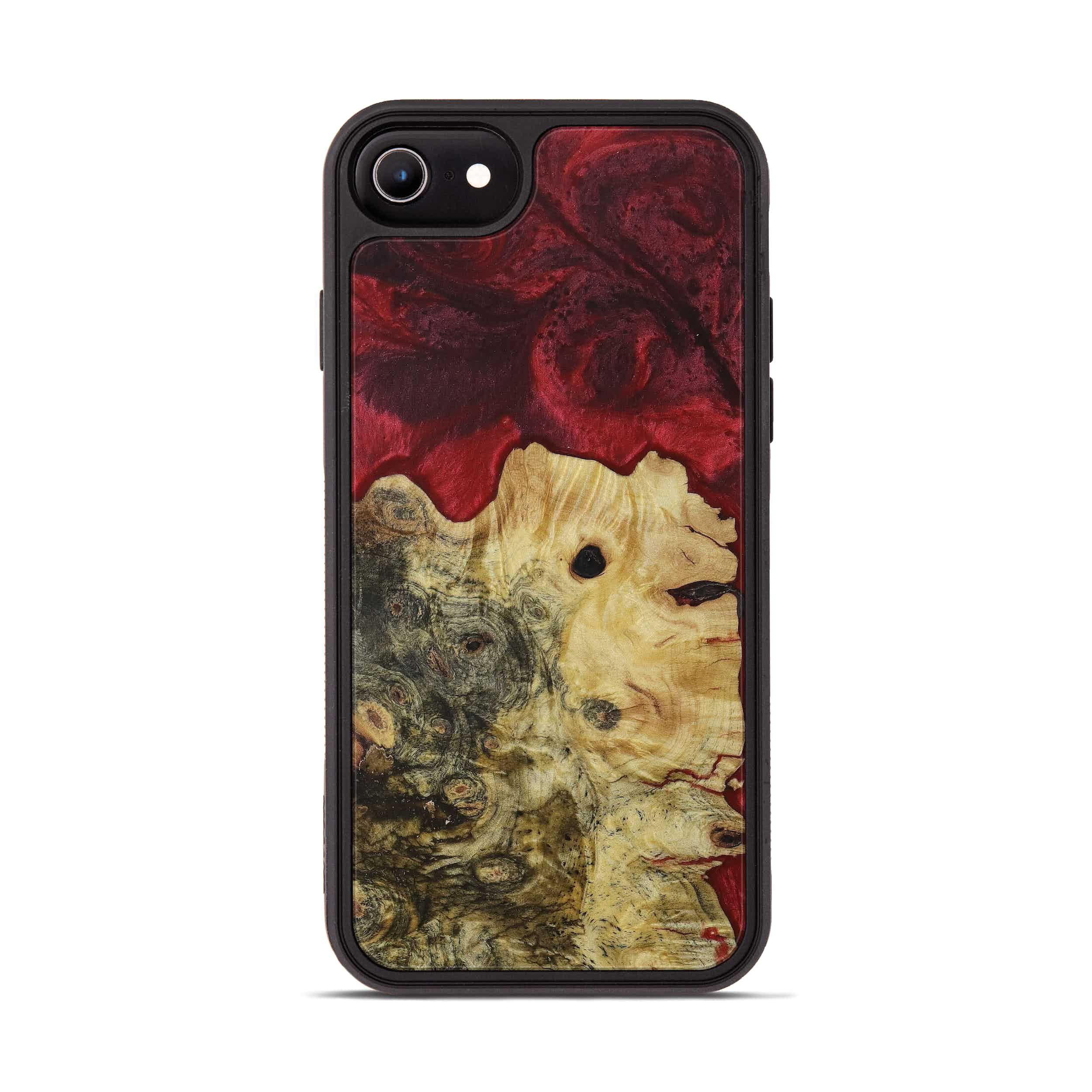 iPhone 6s Wood+Resin Phone Case - Orella (Dark Red, 395934)