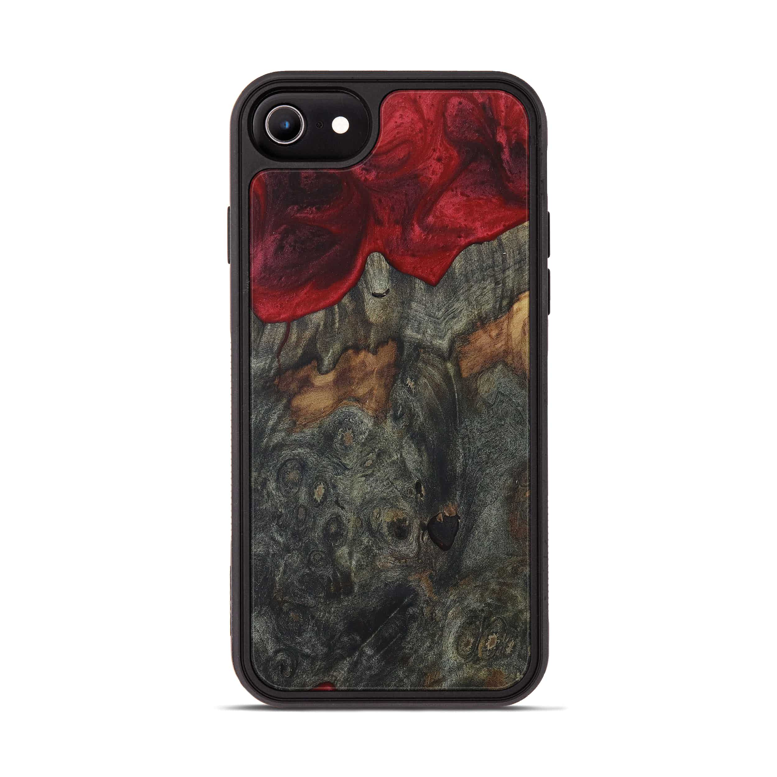 iPhone 6s Wood+Resin Phone Case - Blanche (Dark Red, 395935)