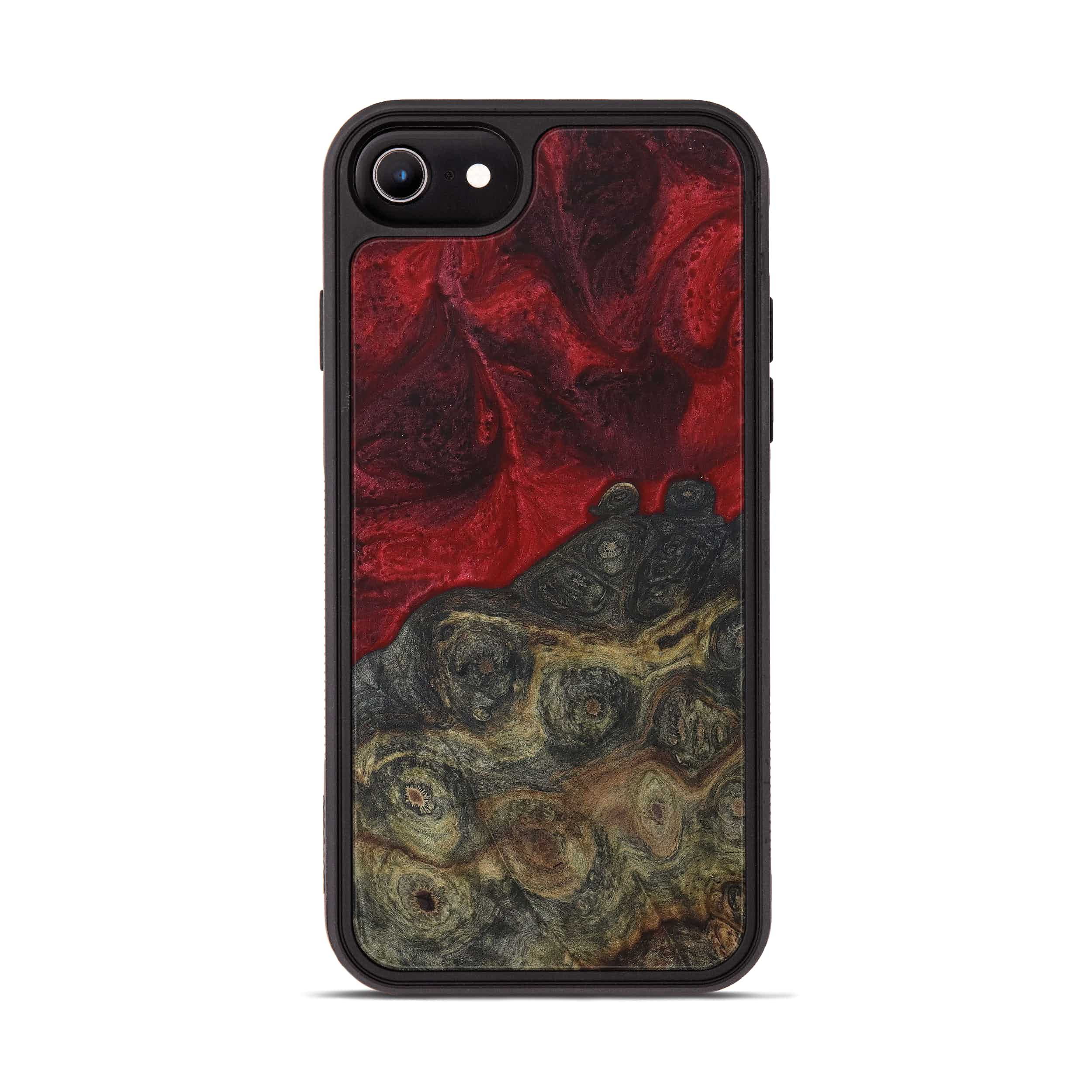 iPhone 6s Wood+Resin Phone Case - Auria (Dark Red, 395937)