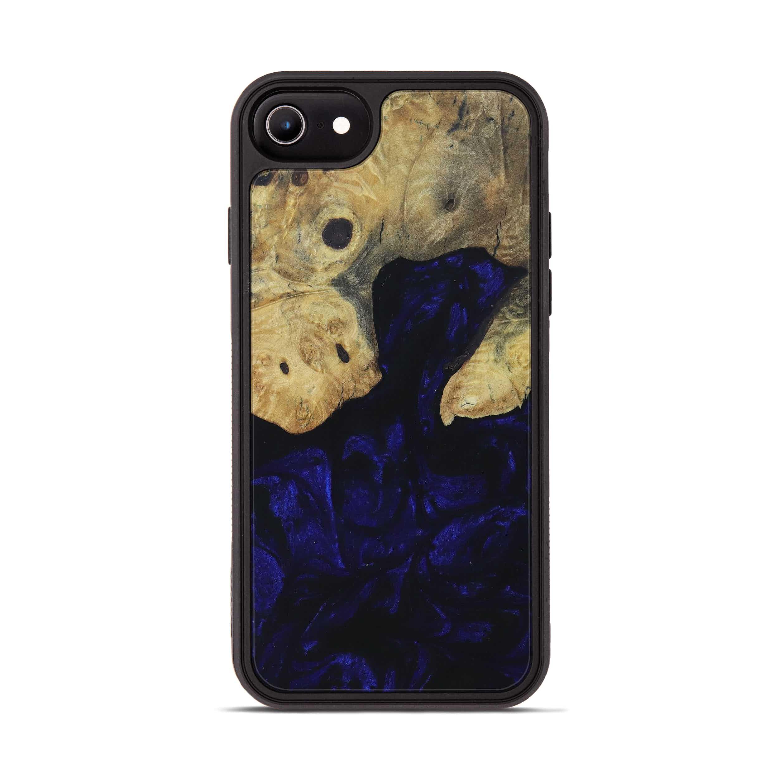 iPhone 6s Wood+Resin Phone Case - Fwpreg (Dark Blue, 396040)