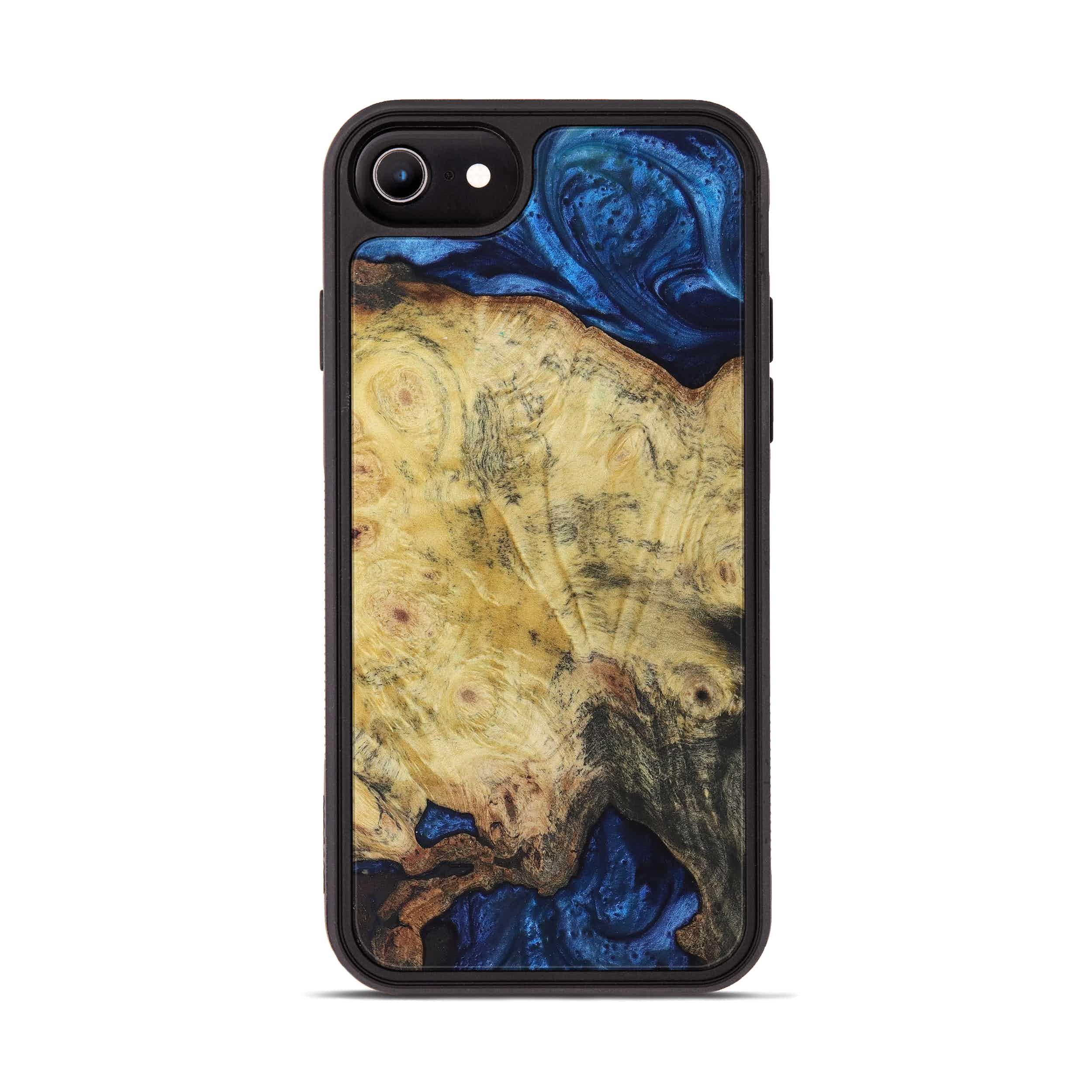 iPhone 6s Wood+Resin Phone Case - Andrzej (Dark Blue, 396081)