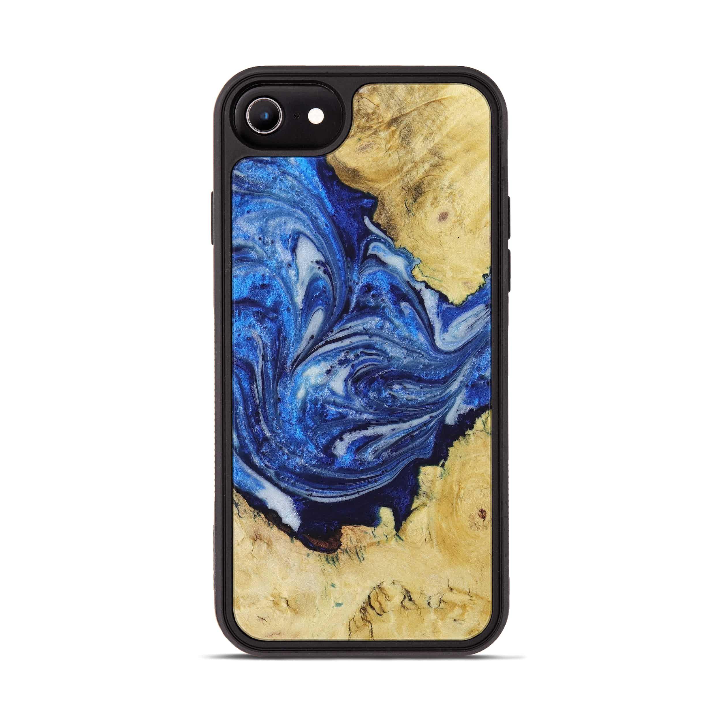 iPhone 6s Wood+Resin Phone Case - Bennet (Dark Blue, 396102)