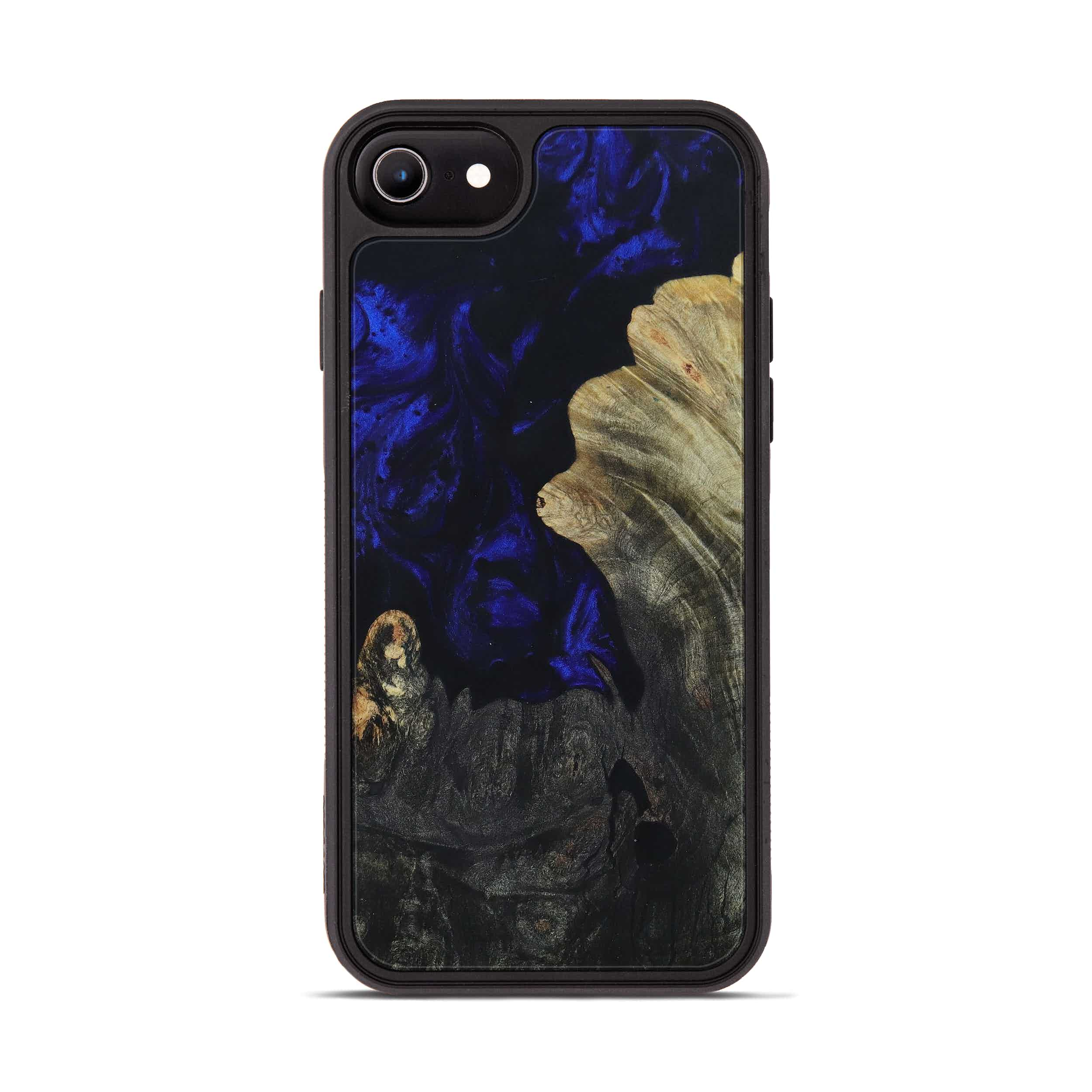 iPhone 6s Wood+Resin Phone Case - Todd (Dark Blue, 396131)