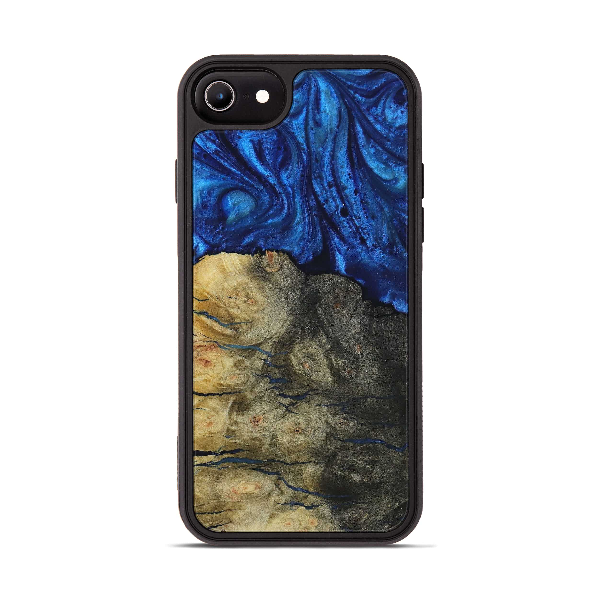 iPhone 6s Wood+Resin Phone Case - Feliza (Dark Blue, 397299)