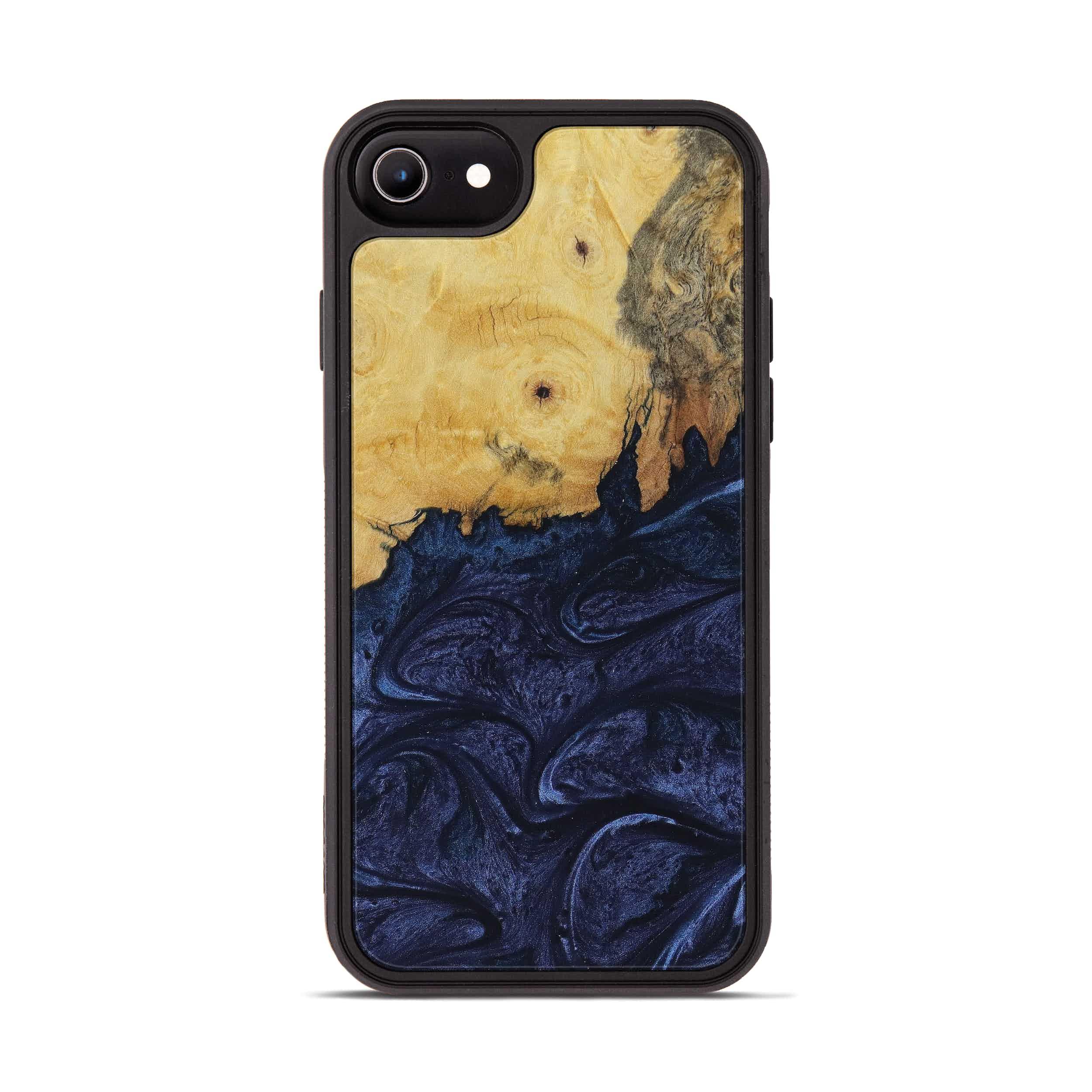 iPhone 6s Wood+Resin Phone Case - Darnell (Dark Blue, 397396)