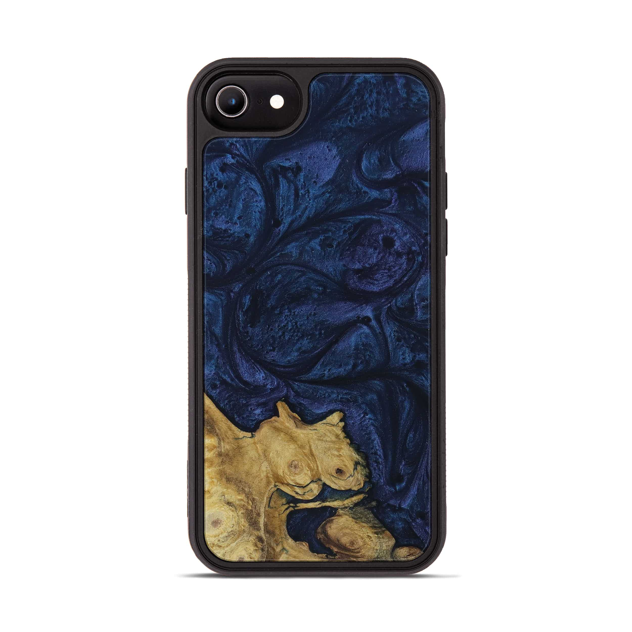 iPhone 6s Wood+Resin Phone Case - Ginelle (Dark Blue, 397408)
