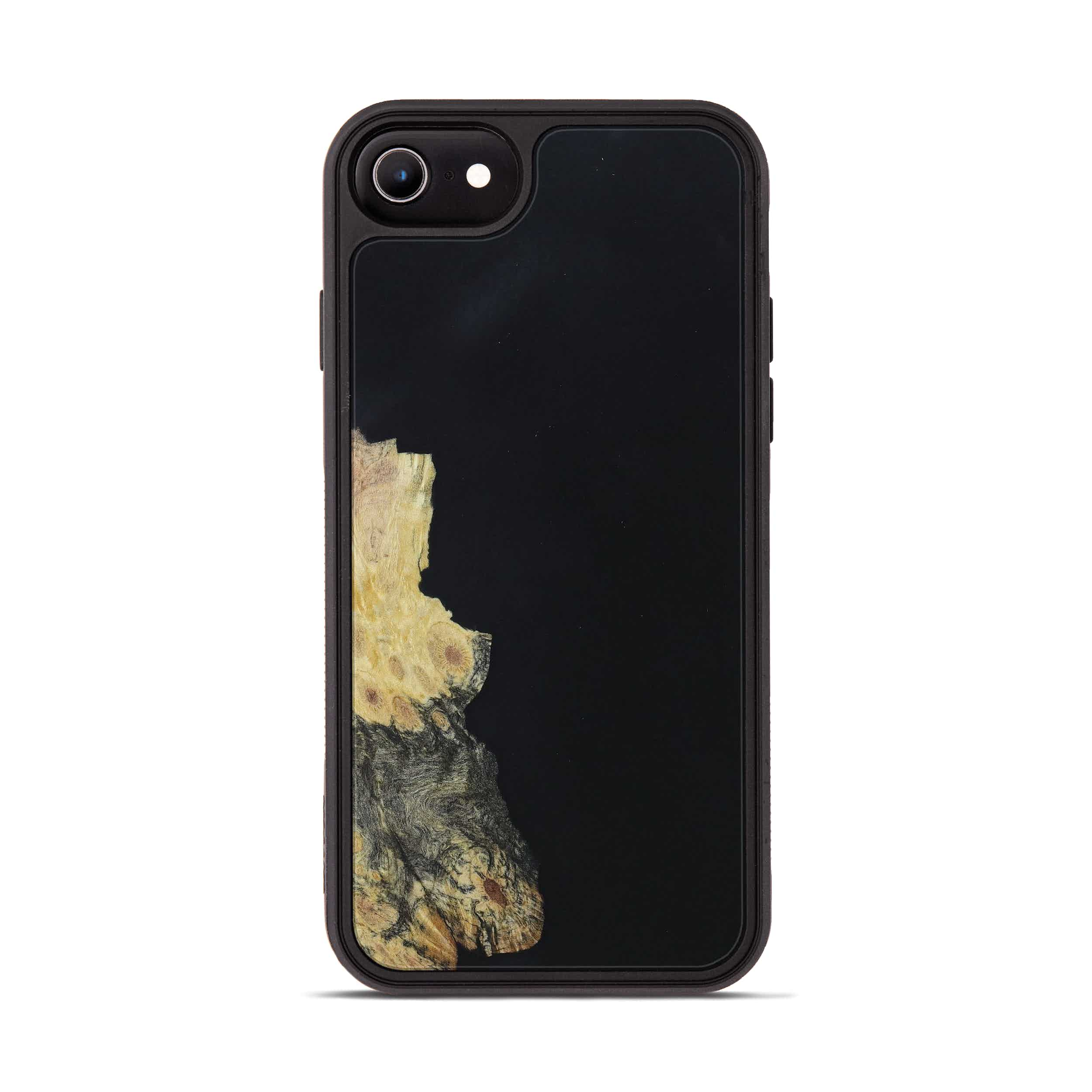 iPhone 6s Wood+Resin Phone Case - Iona (Pure Black, 397842)