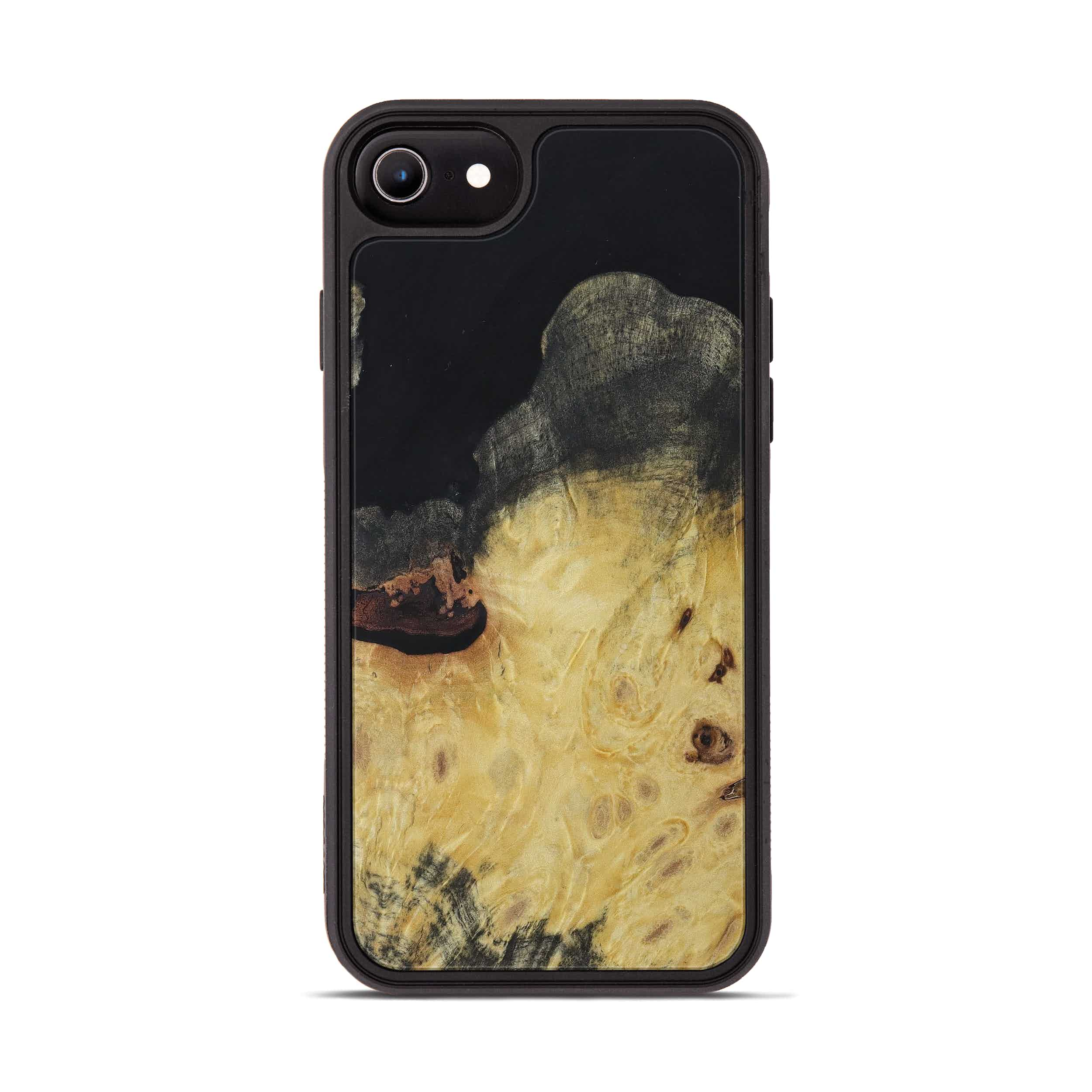 iPhone 6s Wood+Resin Phone Case - Ammar (Pure Black, 397844)