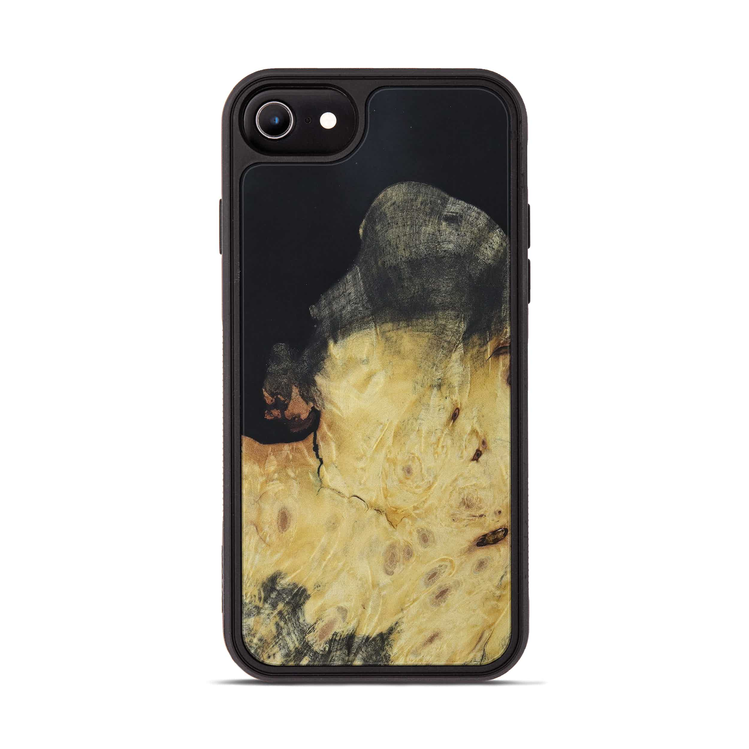 iPhone 6s Wood+Resin Phone Case - Sinh (Pure Black, 397848)