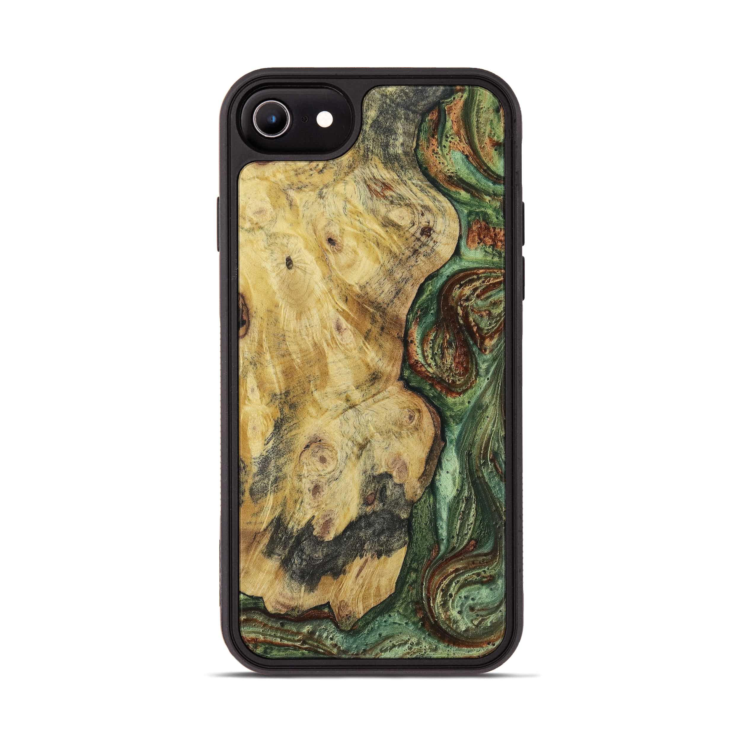 iPhone 6s Wood+Resin Phone Case - Tamqrah (Dark Green, 397859)