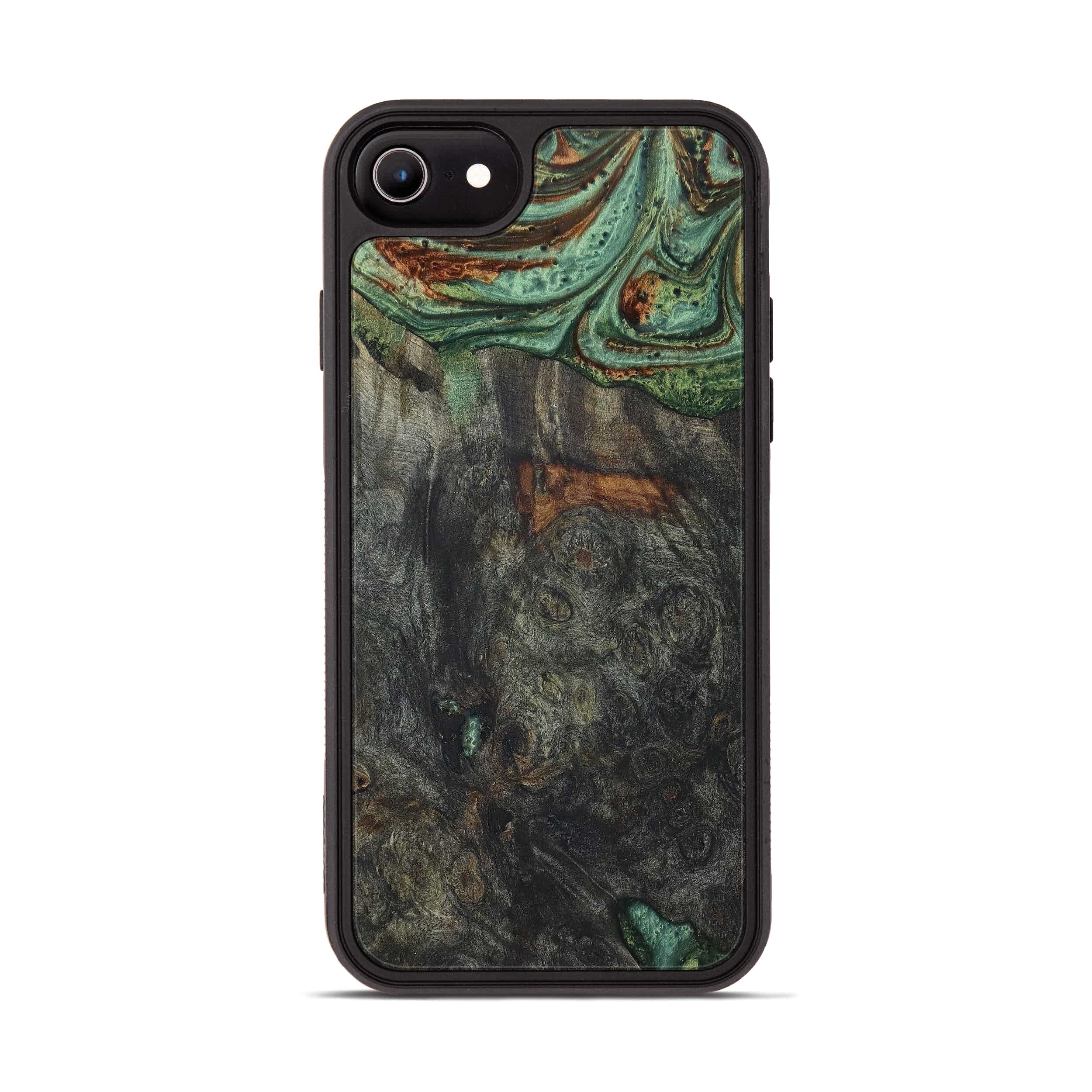 iPhone 6s Wood+Resin Phone Case - Shelby (Dark Green, 397868)