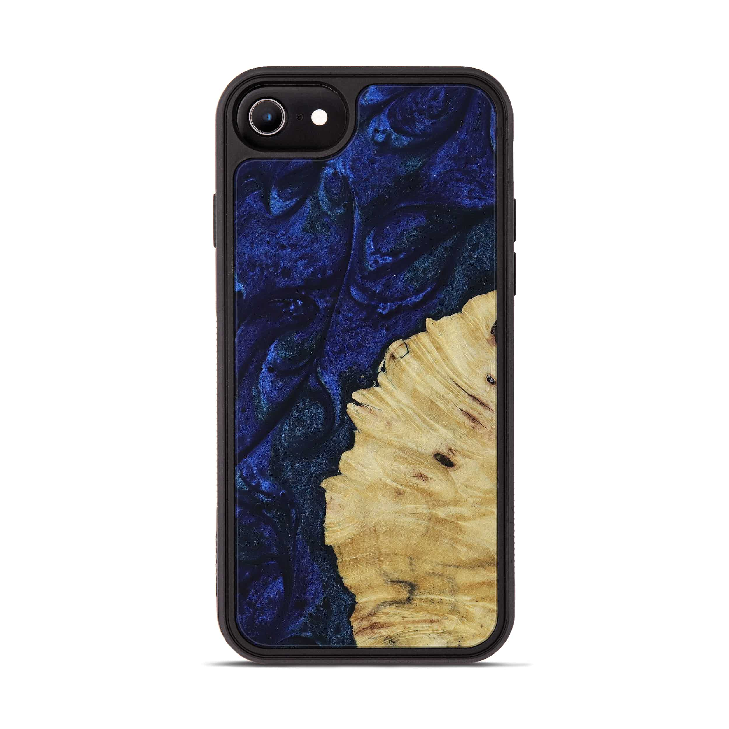 iPhone 6s Wood+Resin Phone Case - Julissa (Dark Blue, 397879)