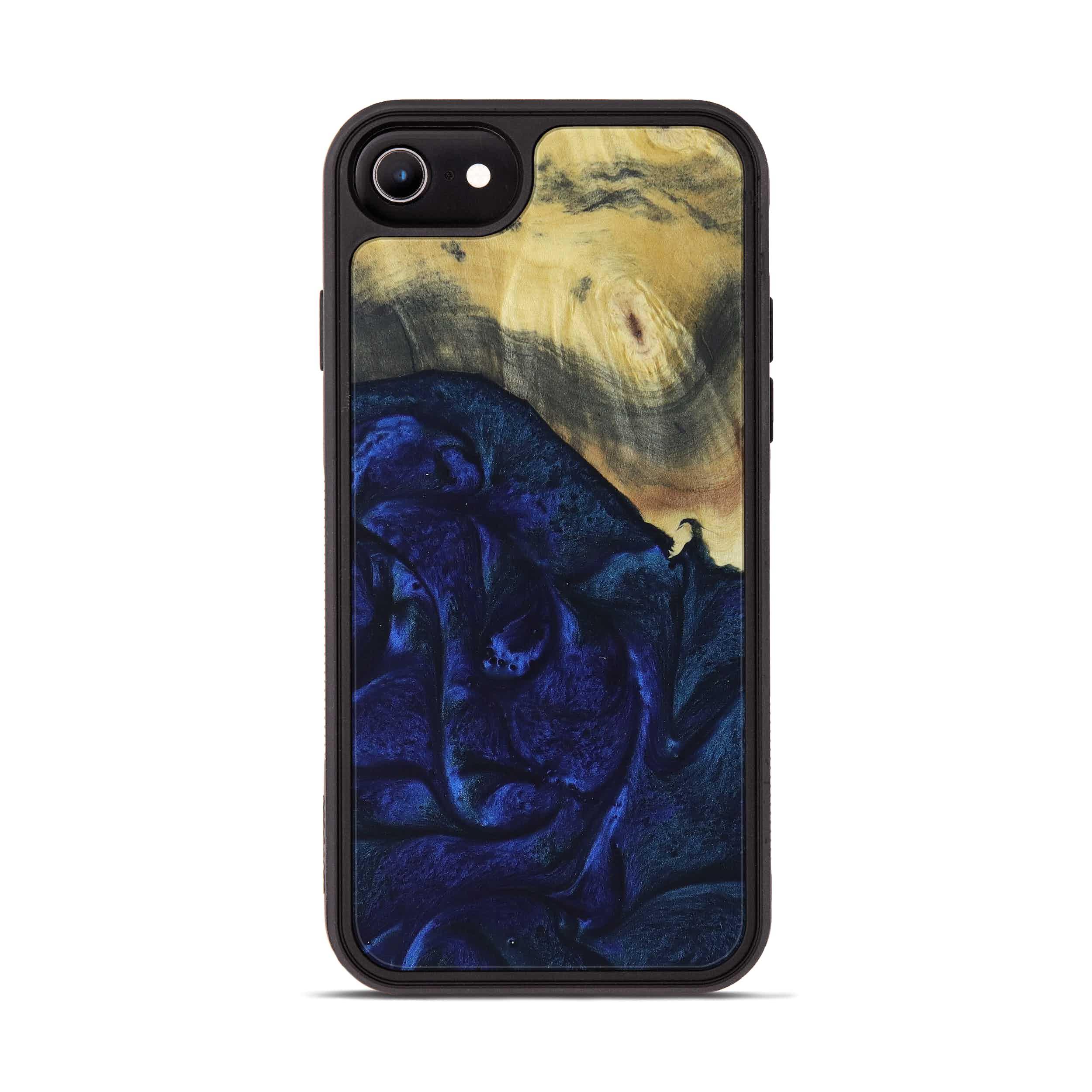 iPhone 6s Wood+Resin Phone Case - Lalit (Dark Blue, 397884)