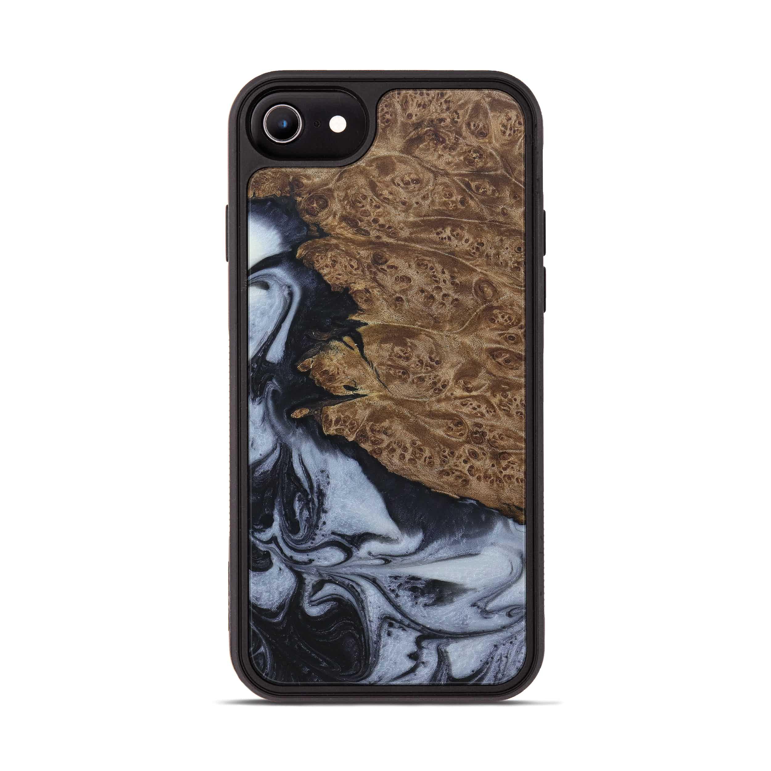 iPhone 6s Wood+Resin Phone Case - Sella (Black & White, 397906)