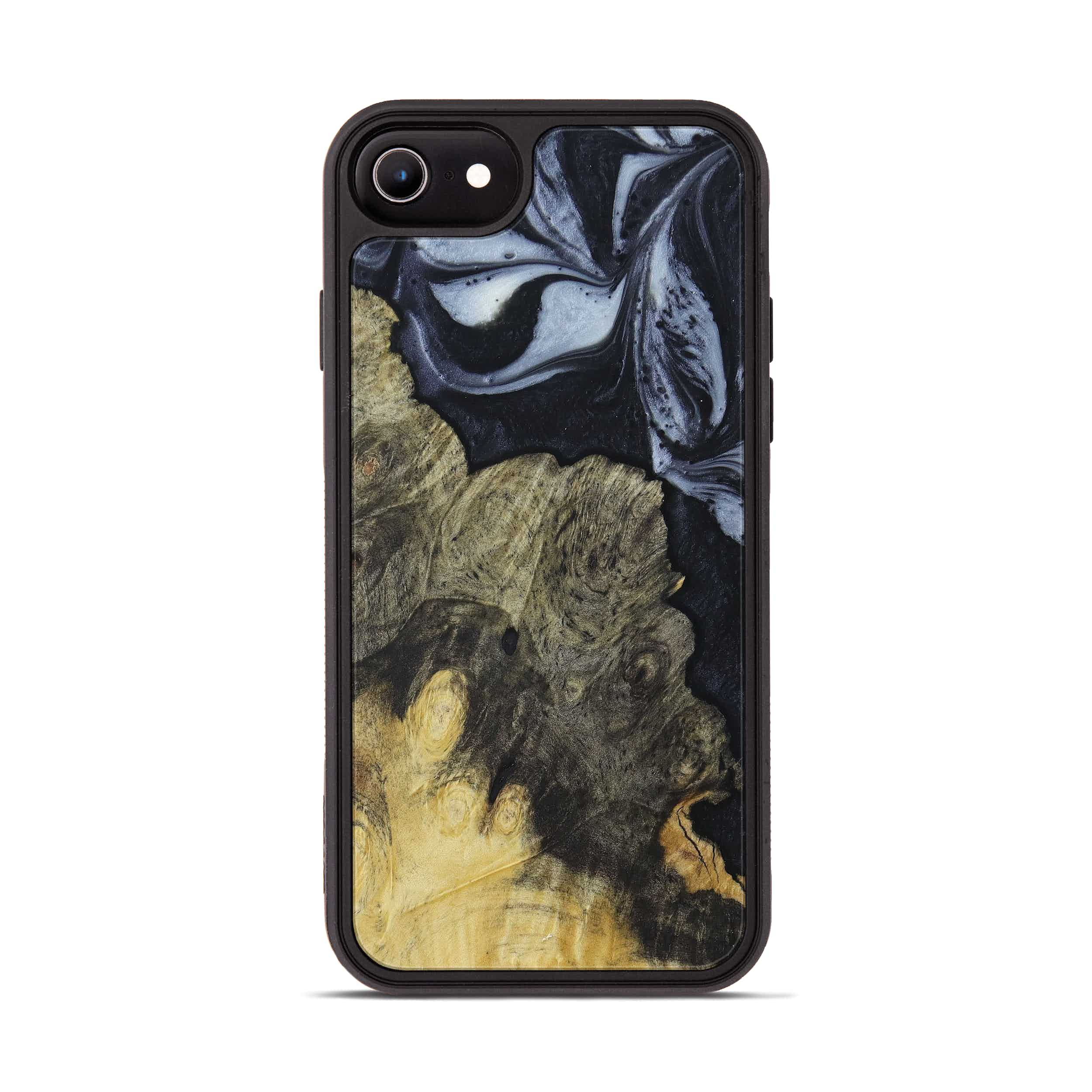 iPhone 6s Wood+Resin Phone Case - Pinecrest (Black & White, 397912)