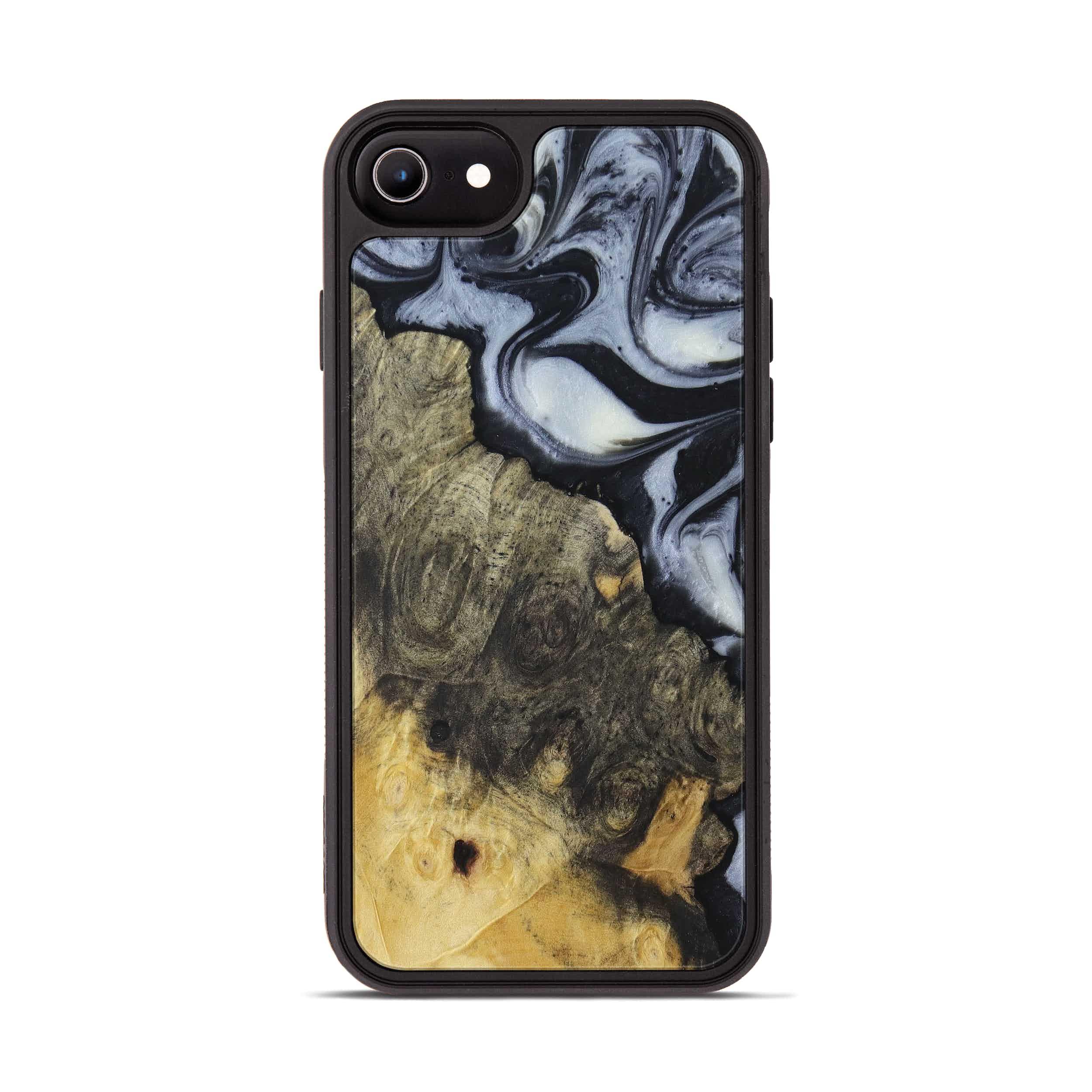 iPhone 6s Wood+Resin Phone Case - Esam (Black & White, 397913)